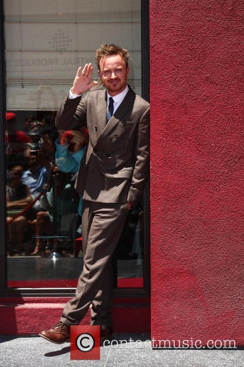 Aaron Paul, Vine Street, Walk Of Fame