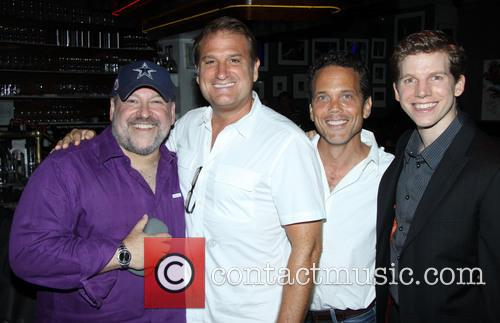 Frank Wildhorn, Jeff Calhoun, Ivan Menchell and Stark Sands 4