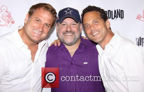 Jeff Calhoun, Frank Wildhorn and Ivan Menchell 5