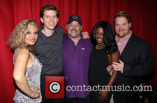 Orfeh, Stark Sands, Frank Wildhorn, Adrienne Warren and John Treacy Egan 4
