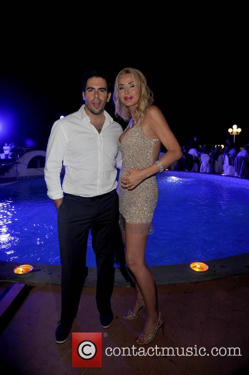 Eli Roth and Valeria Marini 3