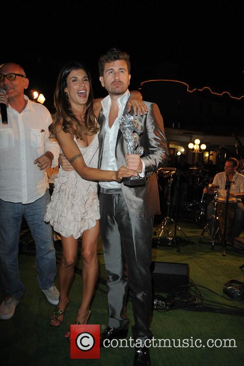 Elisabetta Canalis and Alessandro Siani 5