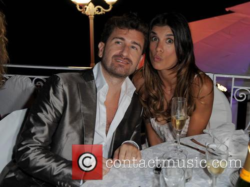 Elisabetta Canalis and Alessandro Siani 7
