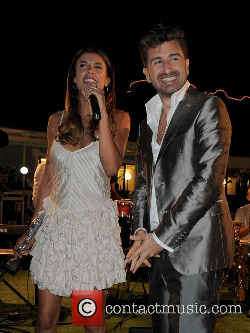 Elisabetta Canalis and Alessandro Siani 1