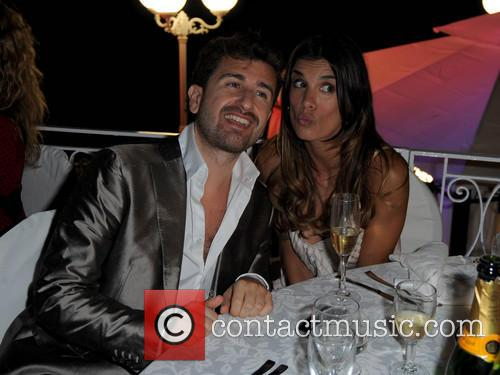 Elisabetta Canalis and Alessandro Siani 11