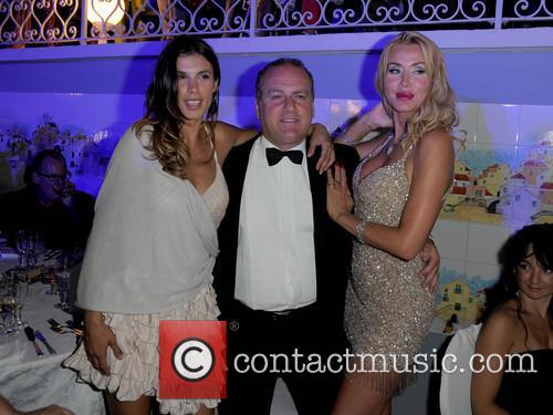 Elisabetta Canalis and Pascal Vicedomini Valeria Marini 3