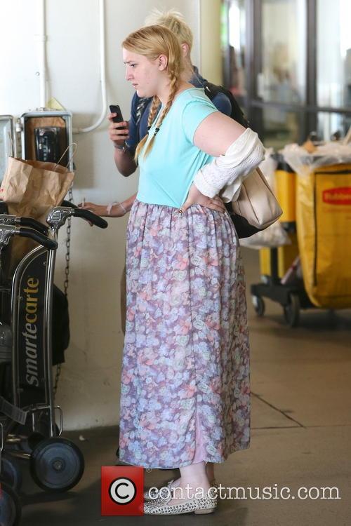 Jonathan Ross, Honey Kinney Ross, LAX Airport