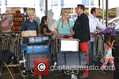 Jonathan Ross, Honey Kinney Ross, Harvey Kirby Ross, LAX Airport