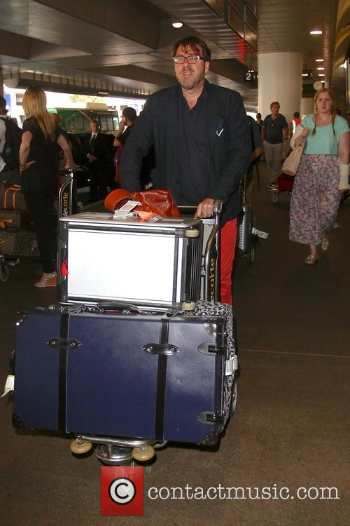 Jonathan Ross, LAX Airport