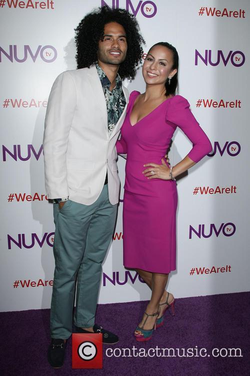 Anjelah Johnson and Husband Manwell Reyes 4