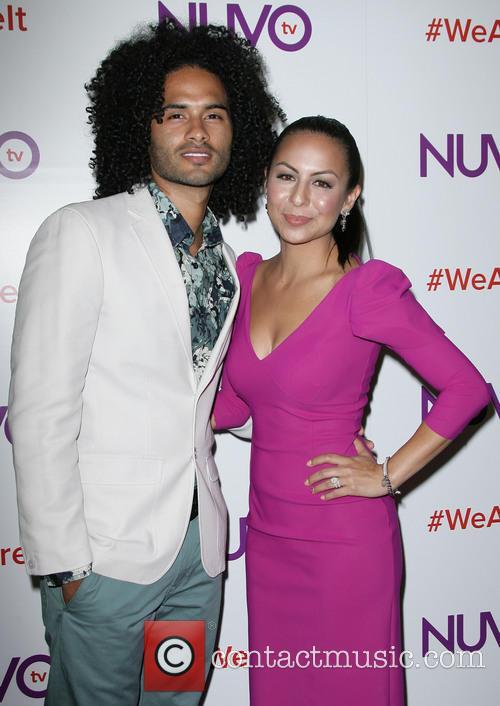 Anjelah Johnson and Husband Manwell Reyes 8