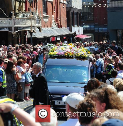 Bernie Nolan and Hearse 6