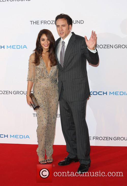 Vanessa Hudgens and Nicolas Cage 6