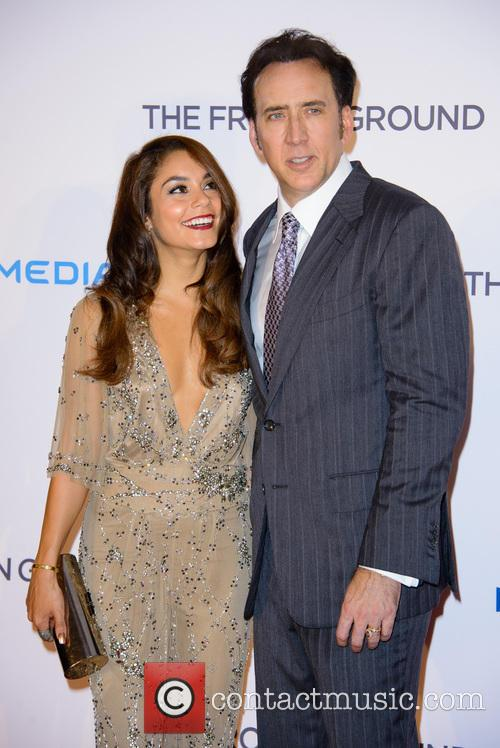 Vanessa Hudgens and Nick Cage 2