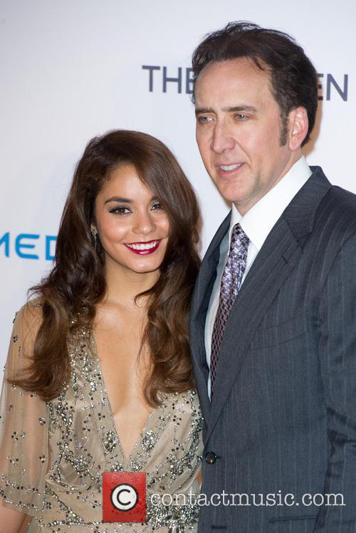 Vanessa Hudgens, Nicholas Cage, Vue West End Cinema  Leicester Square