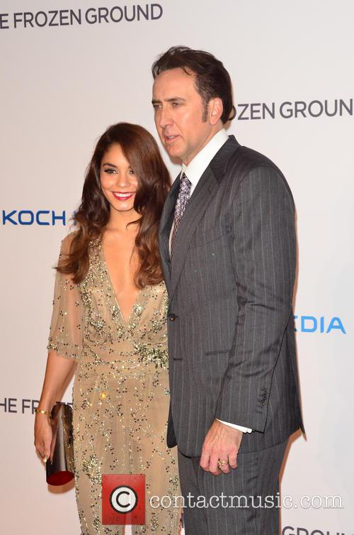 Nicolas Cage and Vanessa Hudgens 7