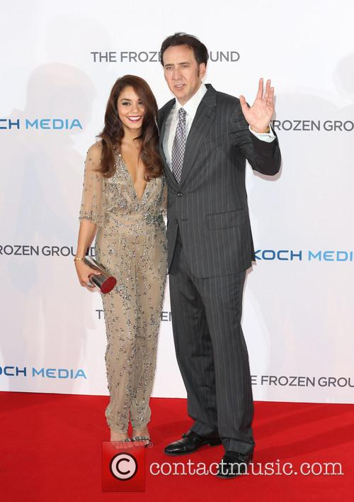 Vanessa Hudgens and Nicolas Cage 5