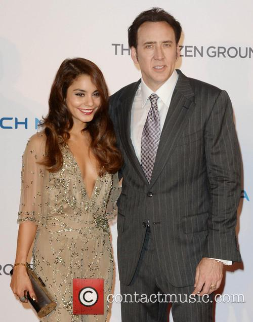Vanessa Hudgens and Nicholas Cage 6
