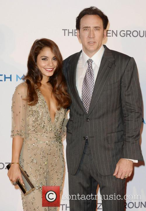 Vanessa Hudgens and Nicholas Cage 8