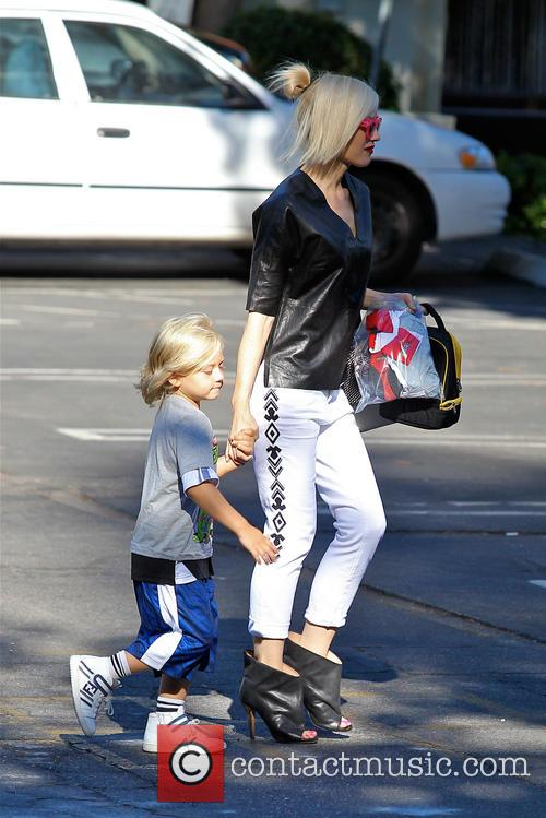 Gwen Stefani and Zuma Rossdale 2