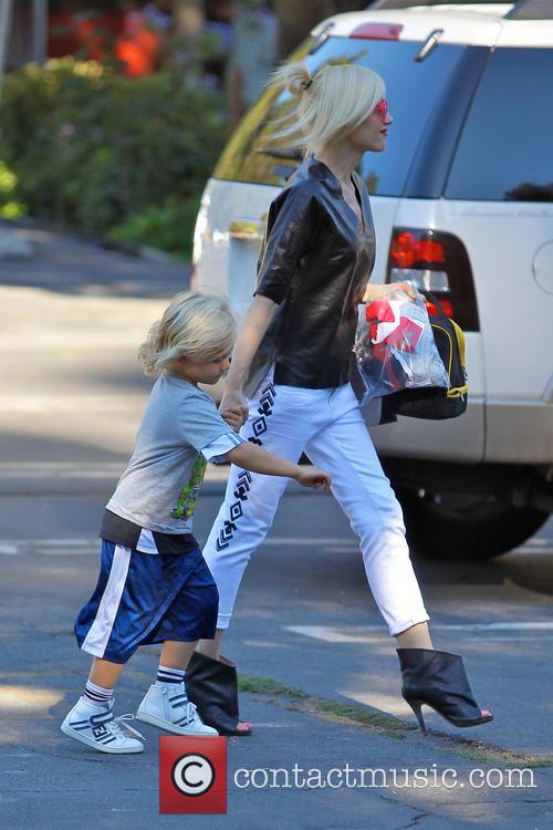 Gwen Stefani and Zuma Rossdale 3