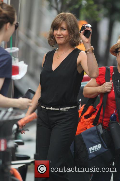 Jennifer Aniston, streets
