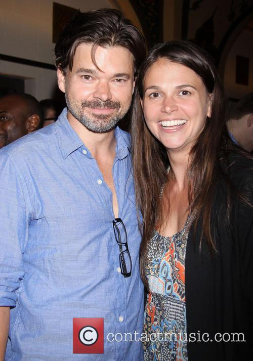 Hunter Foster and Sutton Foster 2