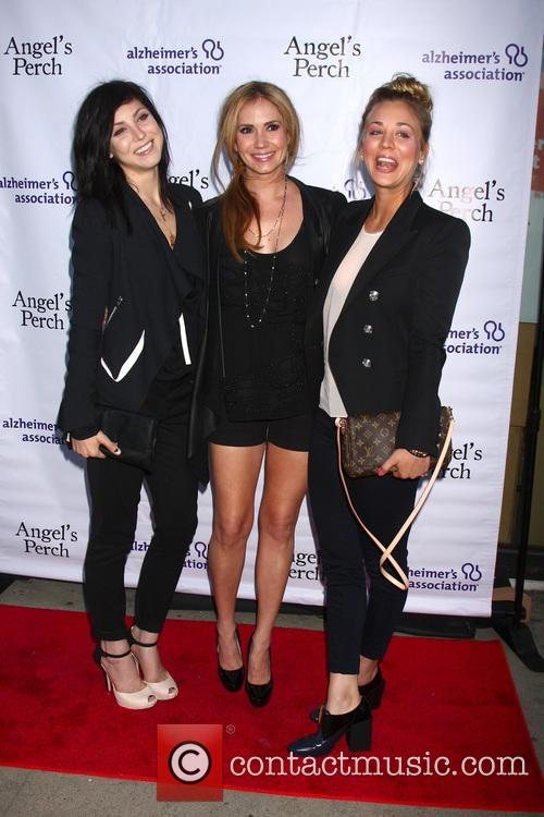 Ashley Jones, Bree Cuoco and Kaley Cuoco