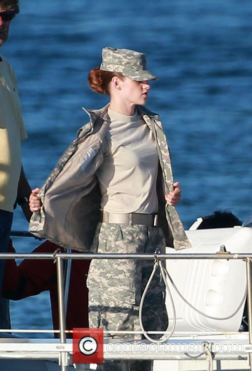 Kristen Stewart, Camp X-Ray Set