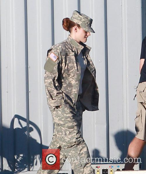 Kristen Stewart, Camp X-Ray Filming