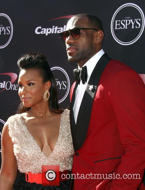 Lebron James and Savannah Brinson 4