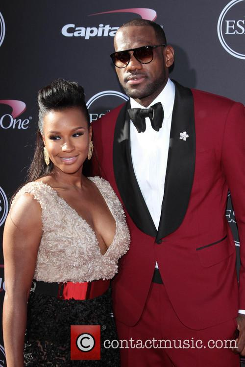 Lebron James and Savannah Brinson 5