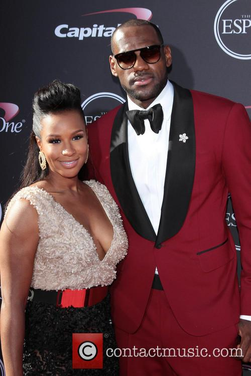 Lebron James and Savannah Brinson 11