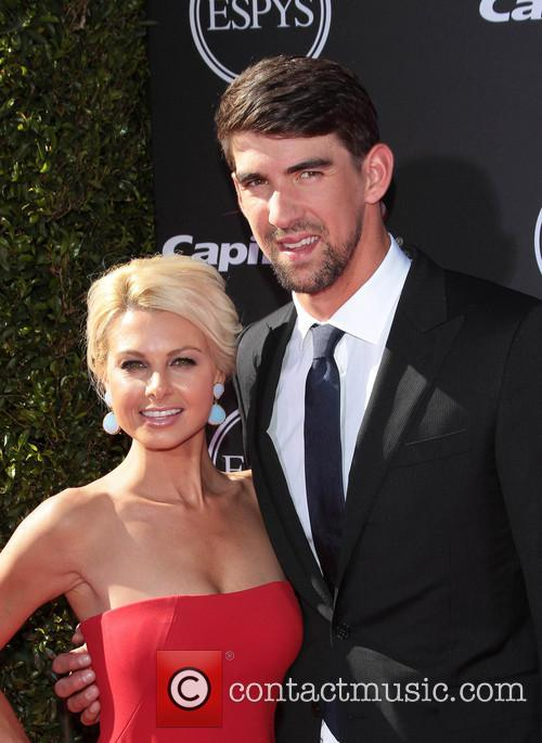 Michael Phelps, Win McMurry, Nokia Theatre L A  Live