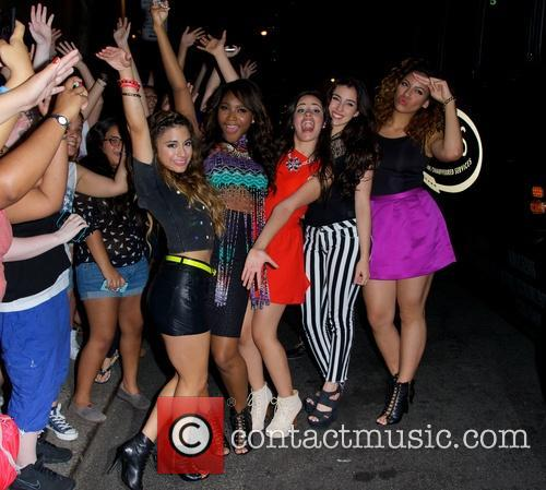 Dinah, Ally Brooke, Normani Kordei, Camila Cabello, Lauren Jauregui and Fifth Harmony 5