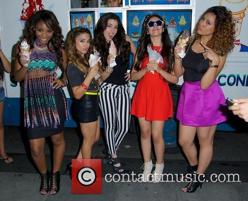 Dinah, Normani Hamilton, Ally Brooke Hernandez, Lauren Jauregui, Camila Cabello and Fifth Harmony 2