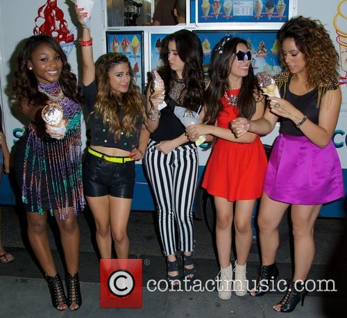 Dinah, Normani Hamilton, Ally Brooke Hernandez, Lauren Jauregui, Camila Cabello and Fifth Harmony 4