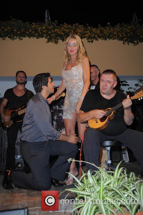 Eli Roth and Valeria Marini 5