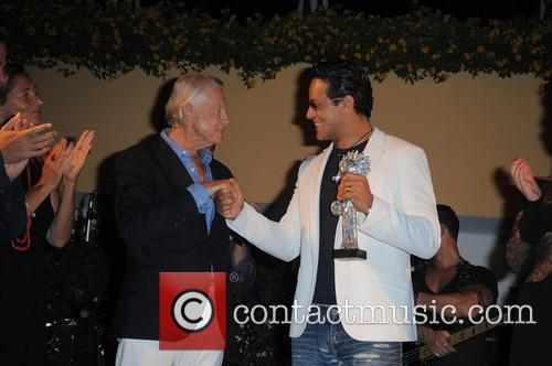 Joel Schumacher and Gabriel Garko 2