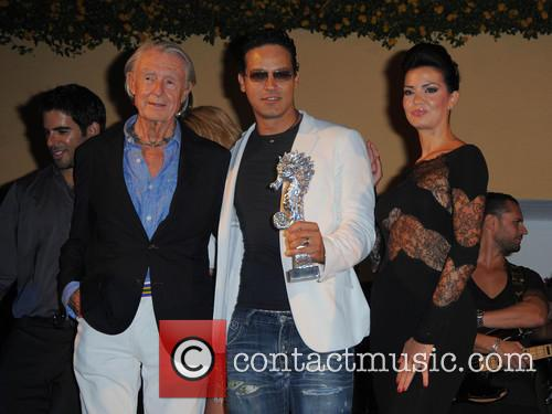 Joel Schumacher, Gabriel Garko and Laura Torrisi 1
