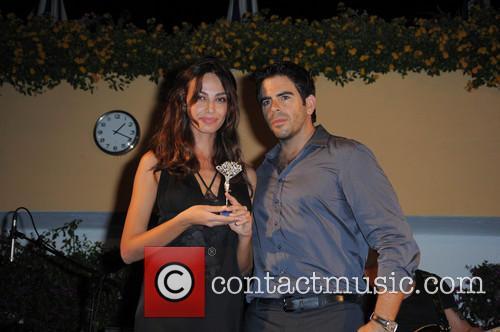 Madalina Ghnea and Eli Roth 1