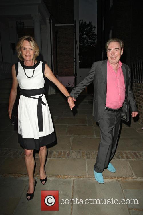 Andrew Lloyd Webber and Madeleine Loyd Webber 2