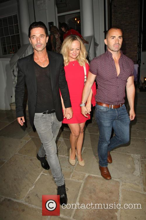 Emma Bunton, Louie Spence and Jake Canuso 2