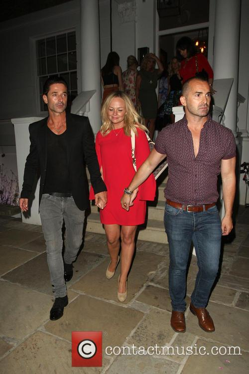 Emma Bunton, Louie Spence and Jake Canuso 1