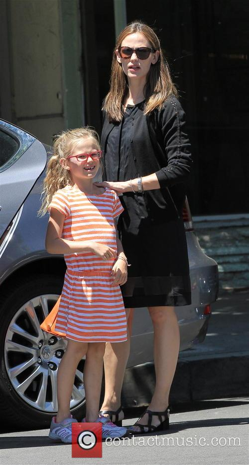 Jennifer Garner, Violet Affleck and Seraphina Affleck 13