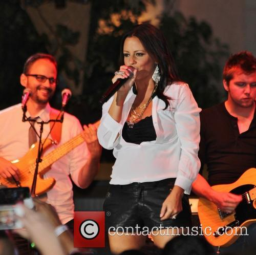 Sara Evans Performs at the Grove