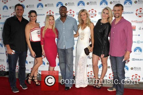Bob Guiney, Tiffany Michelle, Roger Cross, Joanna Krupa, Shanna Moakler and Jesse Spencer 2