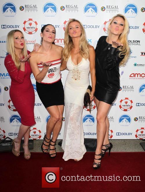 Tiffany Michelle, Joanna Krupa, Shanna Moakler, Guest and Traci Szymanski 2