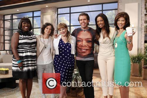 Sheryl Underwood, Sara Gilbert, Guest, Perez Hilton, Aisha Tyler and Julie Chen 2