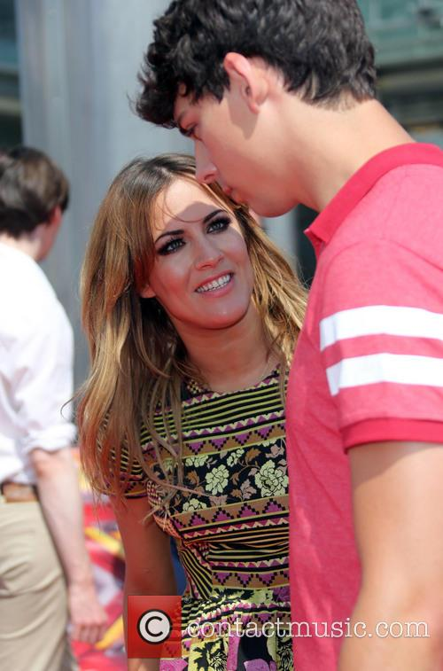 Caroline Flack and Matt Richardson 3